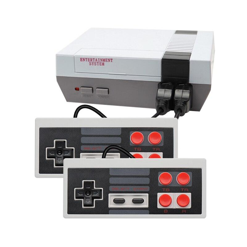 Портативная игровая Ретро консоль, мини игровая консоль со встроенными классическими 500/600 различными играми для 4K TV HDMI/AV выход PAL & NTSC