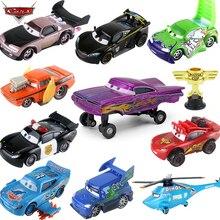Cars Disney Pixar Cars 2 3 Lightning McQueen Toys Jackson Storm The King 1:55 Diecast Metal Alloy Model Car Kids Boy Gifts