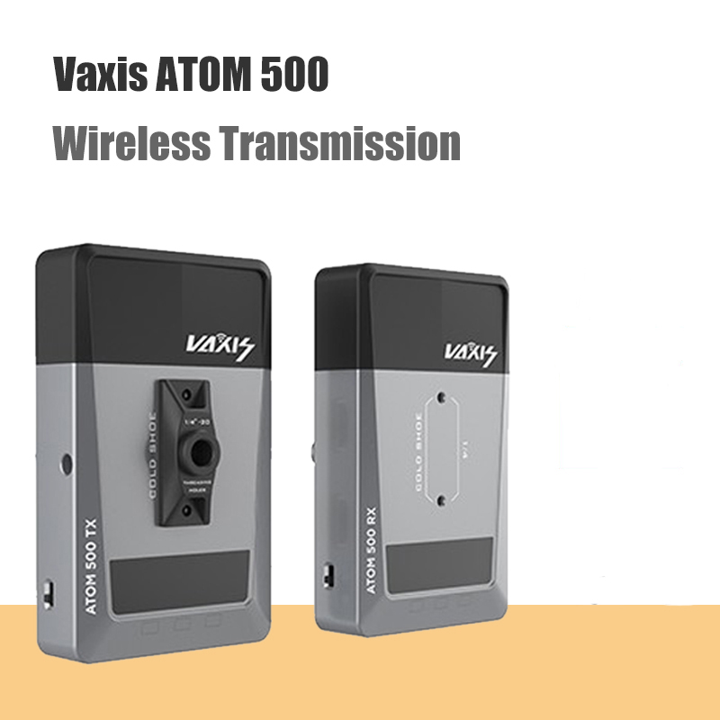 Vaxis ATOM 500 Wireless Transmitter Receiver 1080P HD Dual HDMI Image Video Wireless Transmission System photography Camera image
