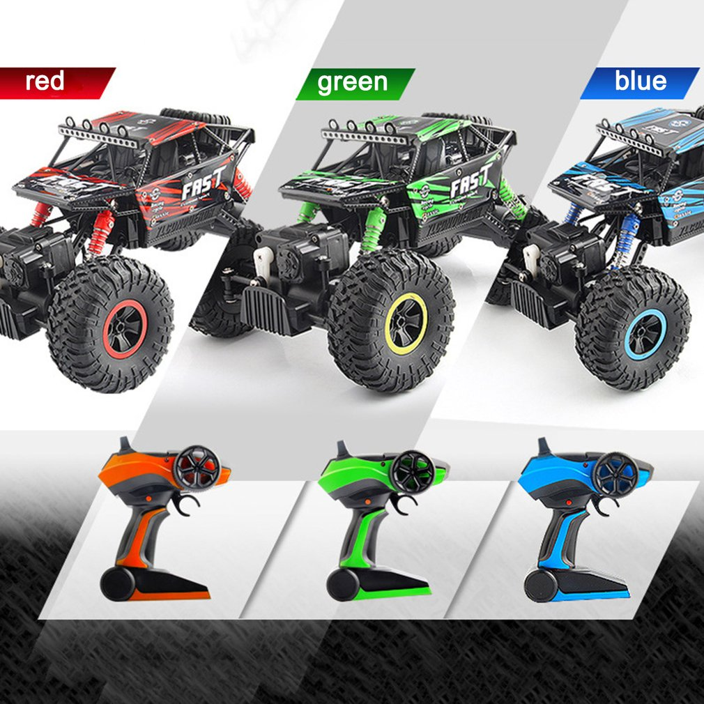 Newest YT 06 RC Cars Large 2.4G  1:18 Vehicle Buggy High Speed Racing Cars Remote Control Truck Four wheel Climber For Kids Boys RC Cars     - title=