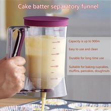 Блинные диспенсеры для теста с мерной этикеткой для выпечки кексов вафли кексов пирожных крем сепаратор мерный стакан