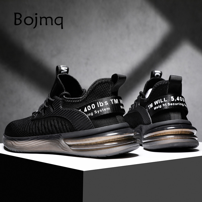Bojmq Tenis Masculino Tennis Shoes 2020 New High Quality Jogging Male Sneakers Luxury Brand Men Design Gym Fitness Sport Shoes