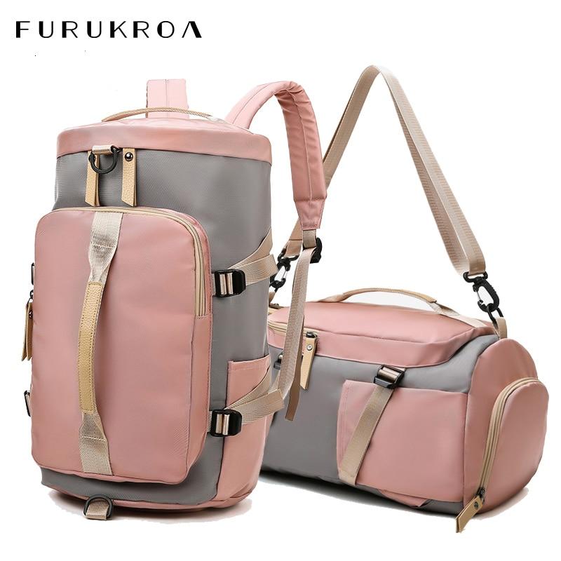 Women Gym Sports Bag Fitness Training Backpack Outdoor Travel Shoulder Bags Tas Sac De Sport Mochila Student Sportbag XA825WB