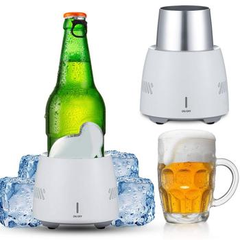 Portable Fast Cooling Cup Electronic Refrigeration Cooler for Beer Wine Beverage Mini Electric Drink Cooler Cup Instant Cooling
