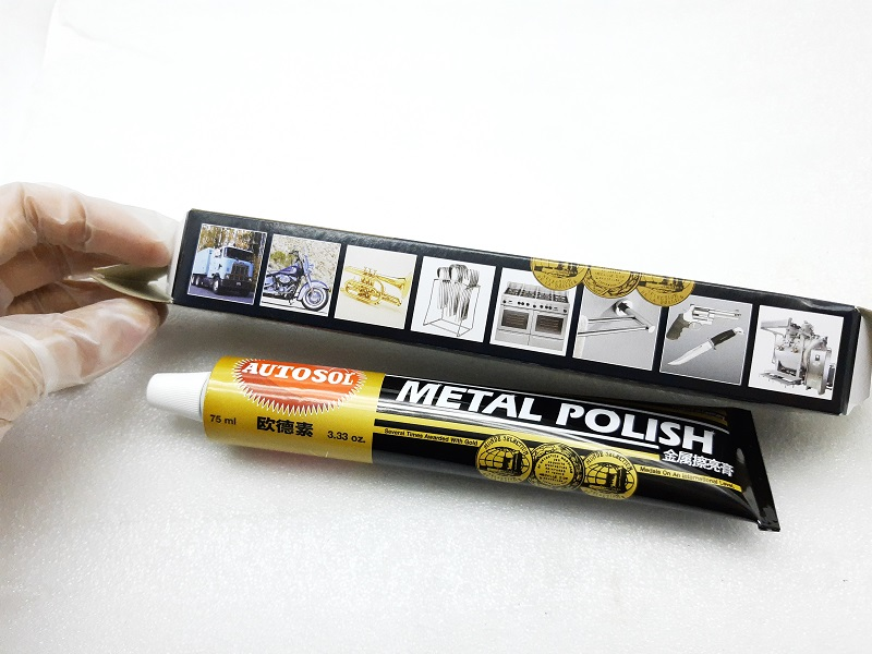 1Pcs 100g AUTOSOL Metal Polishing Paste Metal  Grinding Old Metal Renovation Musical Instruments Cutlery Watch Chain