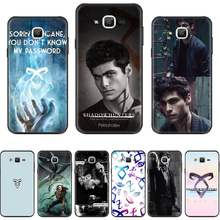 Tv Serie Shadowhunters Usa Klant Telefoon Case Voor Samsung Galaxy J2 J4 J5 J6 J7 J8 2016 2017 2018 Prime pro Plus Neo Duo(China)