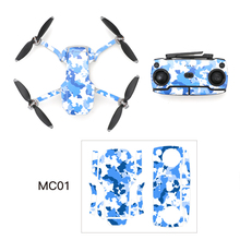 Pegatina calcomanía piel decorativa impermeable, Kit de cubierta para DJI Mavic Mini Drone, piezas de accesorios