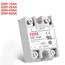 New AC-AC Single Phase Solid State Relay 10A 25A 40A 60A SSR Module
