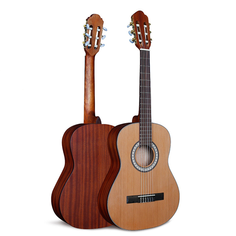 <font><b>36</b></font> Inch <font><b>Guitar</b></font> Mahogany Solid <font><b>Guitar</b></font> 6 String Classical High Quality <font><b>Guitar</b></font> Professional Musical Instrument Gift AGT249 image