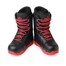 Новинка; профессиональные лыжные ботинки для мужчин и женщин; водонепроницаемые теплые ботинки для сноуборда с флисовой подкладкой; зимние лыжные ботинки больших размеров