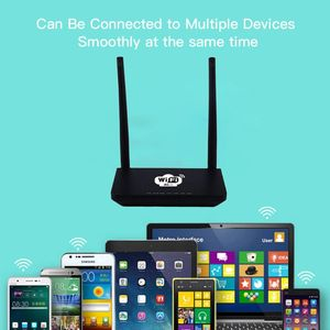 """Image 3 - האיחוד האירופי/ארה""""ב אלחוטי CPE 3G 4G Wifi נתב נייד Gateway FDD LTE WCDMAGlobal נעילה חיצוני אנטנות ה SIM כרטיס חריץ WAN/LAN יציאת"""