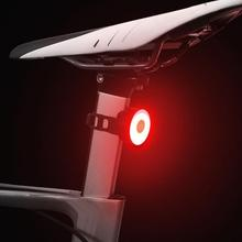 Mini Bicycle Rear Light USB Rechargeable Flashlight Safety Warning Lights Cycling Accessory