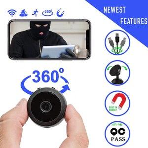 Image 1 - A9 1080p wifi mini câmera, câmera p2p de segurança em casa wifi, câmera de vigilância sem fio de visão noturna, monitor remoto app telefone