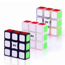 Qiyi 1x3x3 Magic Speed Cube Stickerless 3x3x1puzzle Cubo Magico Twist 133 Cube Cube