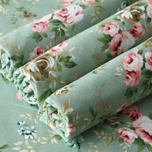 Canvas Fabric Sofa Cover Cotton Linen By The Meter Stripe Flower Anime Cartoon Floral Thickening Fabrics for Sewing Tablecloth