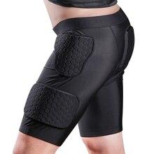 Для взрослых мужчин мягкие Компрессионные шорты хип и защита для бедер для баскетбола, футбола, пейнтбола, катания на коньках, футбольный спортивный костюм Новинка