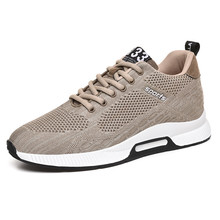 Invisible increase 6cm Breathable Men Shoes Casual Male Mesh Sneakers 2019 New Fashion Zapatillas Hombre