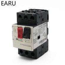 Arrancador de Motor serie GV2ME Protector de Motor interruptor de circuito pulsador 3P interruptor de Motor de tipo magnético térmico MPCB fábrica
