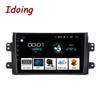 """Idoing 9 """"4G + 64G 2 din Android GPS dla Suzuki SX4 2006-2011 samochód Android Radio odtwarzacz GPS nawigacja GLONASS 8 rdzeń nr 2 din DVD"""