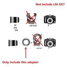عدسة محول حلقة لسوني مينولتا MD كانون EOS EF FD بنتاكس PK M42 AI amg OM عدسة إلى temap LM EA7 NEX E FE جبل كاميرا