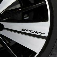 4 шт/компл наклейка на тело автомобиля спортивного типа дверь