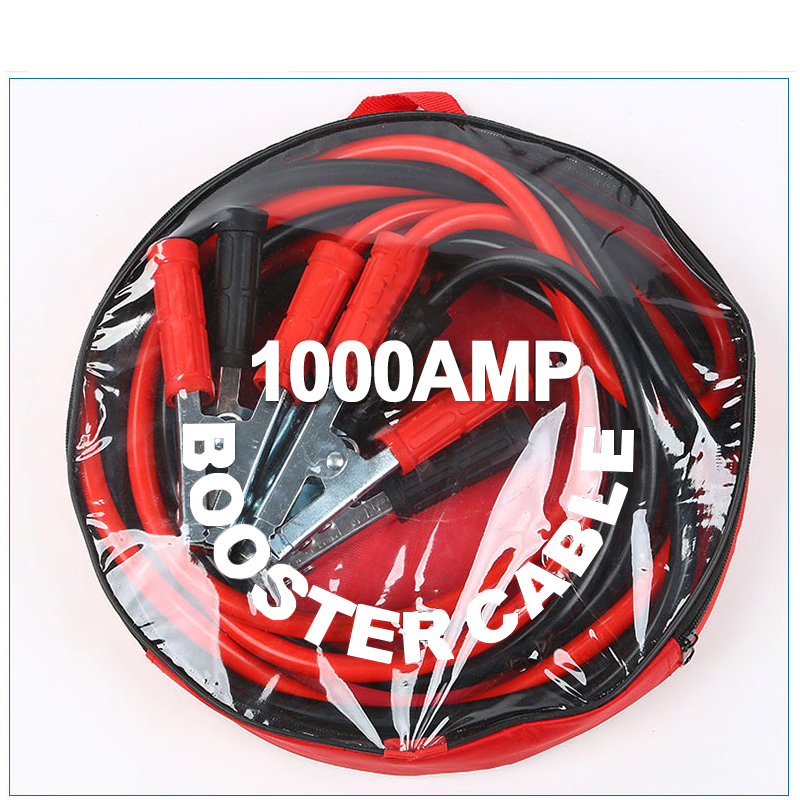 4 Meters 1000A Car Power Booster Cable Emergency Battery Jumper Wires Battery Jump Cable Battery Jump Cable Car Accessories New|Alligator Clips|Home Improvement - title=
