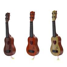 4 Strings Mini Beginner Safe Classical simple Ukulele Guitar Educational Musical Concert Instrument Toy for Kids Christmas Gift