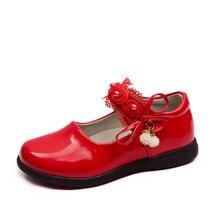 Shoe Dress Beads Flower Bow-Girl Wedding-Party Kids Child 6 7 12 8 9 4 Big 5 3-Years