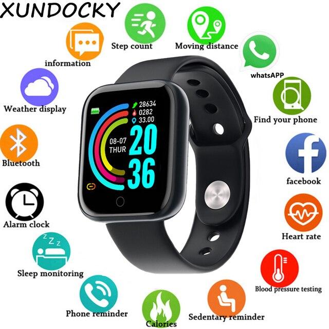Smart Sports Watch Unisex Digital Display Led Electronic Watch Bluetooth Application Fitness Running Bracelet 1