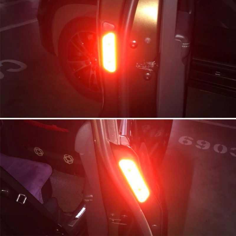 Pegatina para marcar cinta reflectante abierta para coche para Mercedes w203 w204 Benz Peugeot 307 206 308 Opel Astra h j g