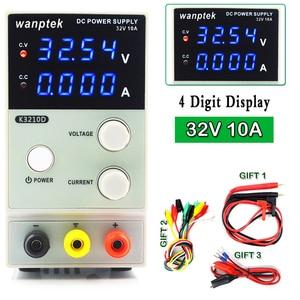 Mini Adjustable Digital DC power supply 30V 10A Laboratory Switching Power supply 110v-220v K3010D laptop phone repair Rework(China)