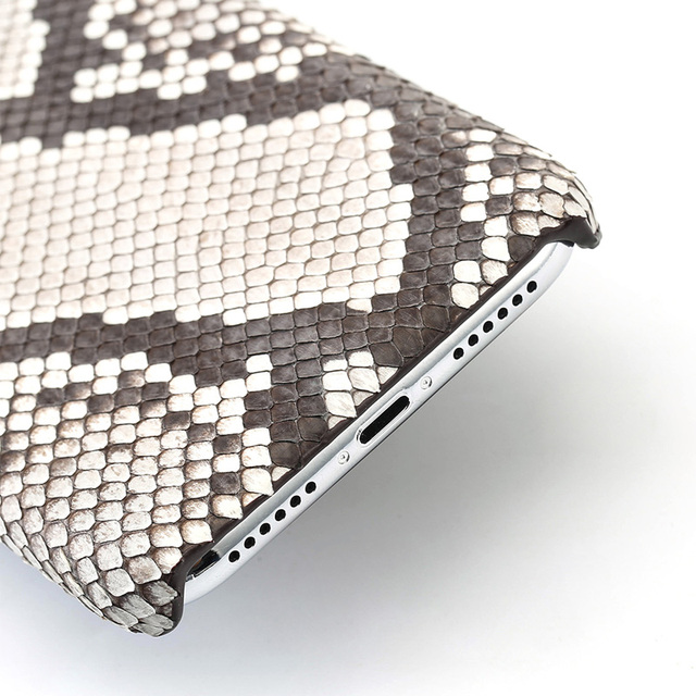 Genuine Python Leather Phone Case For iPhone 12 Pro Max 12 Mini 11 Pro Max X XS max XR 5s 6 6s 7 8 Plus SE 2020 snakeskin Cover 4