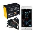 Карточка Smart Keyless вход дистанционный стартер Пусковой двигатель Start Stop gps pke 4G Автомобильная сигнализация