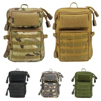 Men Women Outdoor Camping Hiking MOLLE System Backpack Utility Waist Bag Sports EDC Bag Phone Holder Pouch