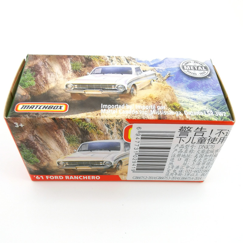 2020 Matchbox Cars 1:64 Car 61 FORD RANCHERO Metal Diecast Alloy Model Car Toy Vehicles