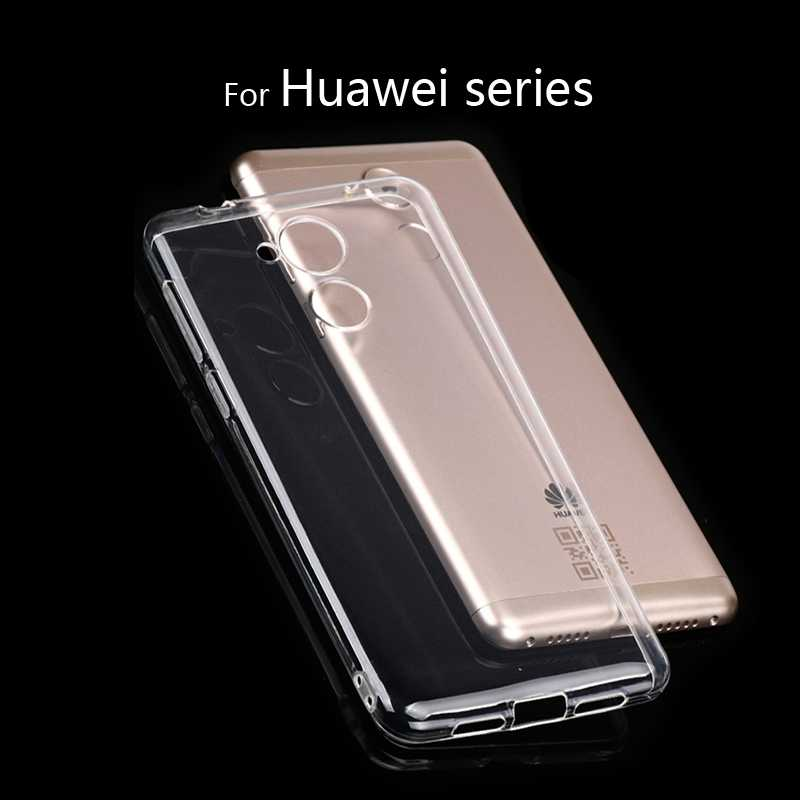 Quality Clear Fundas for Huawei Honor 6A 6C 6X 5X 7X Honor 8 9 P8 P9 P10 lite 2017 V9 V10 Mate 9 10 lite Nova 2 Phone Case Cover