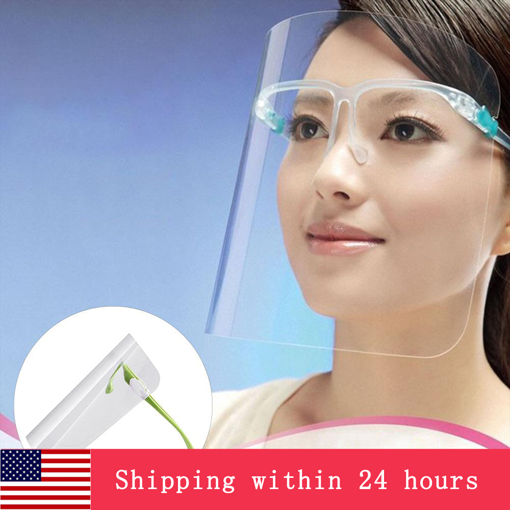 Transparent Anti-fog Anti-Oil Splatter Full Face Shield Mask Cooking Protector Kitchen Cooking Work Safety Face Protection