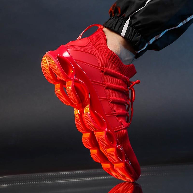 Hc5beb8b96b6346c08ec59e9213caeb98R New Fishbone Blade Shoes Fashion Sneaker Shoes for Men Plus Size 46 Comfortable Sports Men's Red Shoes Jogging Casual Shoes 48