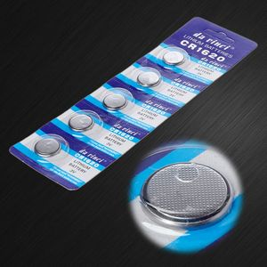 Image 3 - 5PCS Lithium Battery CR1620 Electronic Button Coin Cell Batteries 3VECR1620 DL1620 5009LC Watch Toy Remote CR 1620