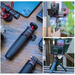 Image 3 - Ulanzi MT 08 להארכה Vlog חצובה SLR DSLR מצלמה Smartphone חצובה הר עבור Sony A6400 A6600 RX100 ZV1 Canon G7X ניקון