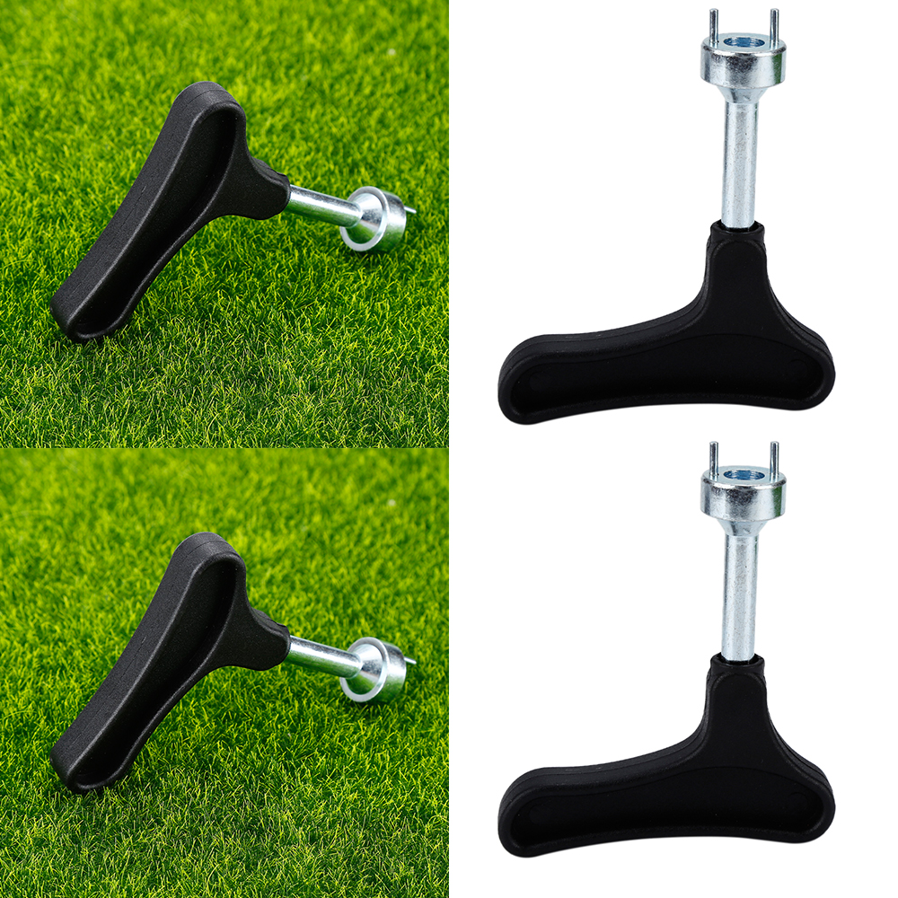 1Pcs Practical Black Golf Shoes Spike Wrench Remover Tool Golf Shoe Cleats Ratchet Key Handle Accessories Tools