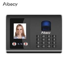 Aibecy Intelligent Attendance Machine Face Fingerprint Password Recognition Mix Biometric Time Clock for Employees