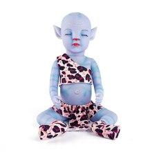 12 polegadas avatar luz da noite cheia de vinil macio brinquedo renascer bebê lifelike boneca recém nascido bonecas reborn brinquedos presente lol para a menina crianças