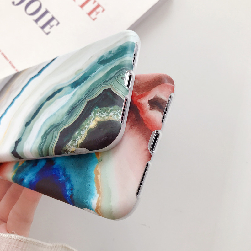 XBXcase Vintage Granite Marble Stone Case for iPhone 11 Pro Max 6 6S - Բջջային հեռախոսի պարագաներ և պահեստամասեր - Լուսանկար 5