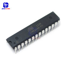 Diymore IC Chips ATMEGA8A-PU ATMEGA8A MEGA8A DIP-28 8-битные 8K байты, Встроенная Система Программируемой вспышки ATMEGA8, интегральная схема
