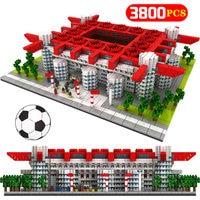 Mini Blocks Famous Architecture Football Soccer Field Soccer Camp Nou Signal Lduna Park Model Building Blocks Toys for kids