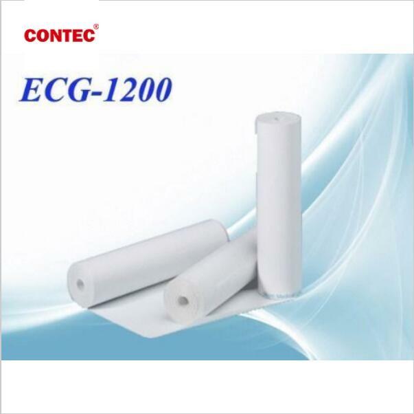 Thermische Drucker papier für ECG ekg Maschine ECG1200G, 210mm * 20 meter, Aufnahme Papier