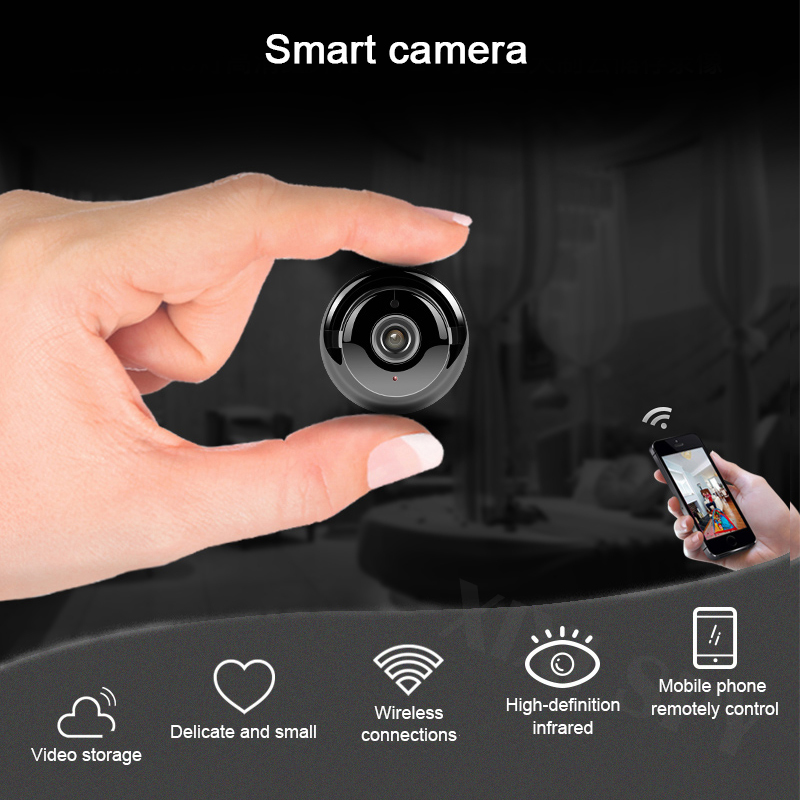<font><b>Mini</b></font> <font><b>wifi</b></font> <font><b>camera</b></font> IP hd secret cam micro small 1080p wireless home brand outdoor videcam XIXI <font><b>SPY</b></font> brand image