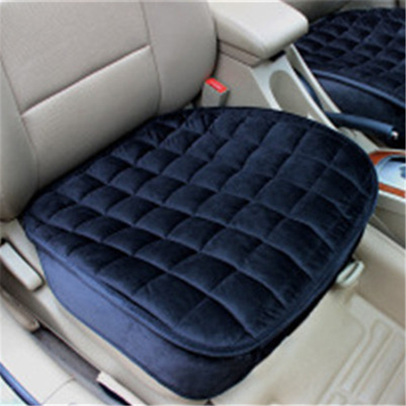 flocking cloth not moves car seat cushions non slide auto seat cushion universal keep warm winter car accessories seat cover