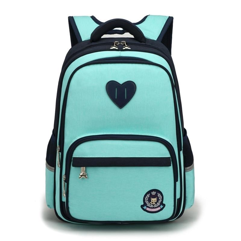 Водонепроницаемый детский школьный рюкзак, рюкзак для мальчиков и девочек, ортопедический рюкзак|Школьные ранцы| | АлиЭкспресс